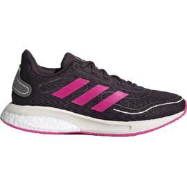 adidas Supernova K noble purple/noble purple/shock pink 38