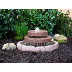 Midi-Kaskadenbrunnen Frosti zum Garteneinbau