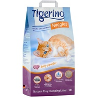 Tigerino Nuggies Ultra Babypuderduft 14 l