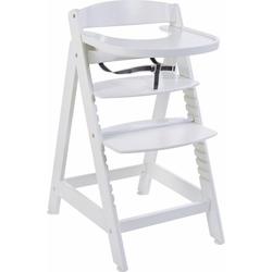 roba® Hochstuhl Treppenhochstuhl Sit up Maxi, weiß aus Holz