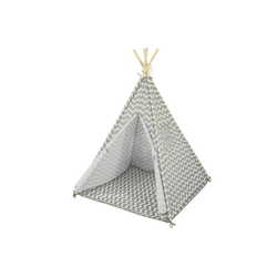 SoBuy Spielzelt OSS03 Tipizelt Zelt für Kinder mit 1 Tür und 1 Fenster Spielhaus Kinderzelt Indianer
