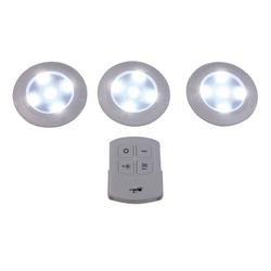 LED-Licht mit Fernbedienung 3er Set