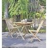 Garden Pleasure Tisch JAVA, quadratisch 70x70cm, Teak