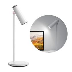 Baseus LED Schreibtischlampe Baseus Drahtlose Schreibtisch-LED-Lampe Licht Lampe Beleuchtung 1800 mAh Bürolampe Leselampen weiß