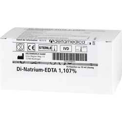 DI NATRIUM EDTA Lösung 1,107% 100 ml