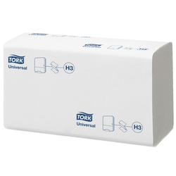 Tork universal papierhandtücher zz, fein, weiß, 15x 300 stk.
