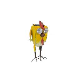 HTI-Line Dekofigur Gartenfigur Deko mit Solar Crazy Chick, Figur