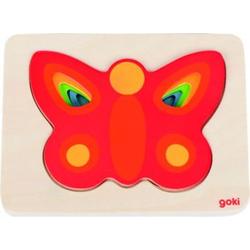 Schichtenpuzzle Schmetterling