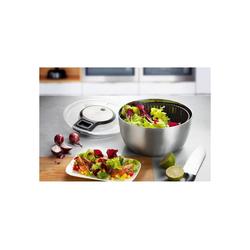 GEFU Salatschleuder Salatschleuder SPEEDWING® Edelstahl, Leicht zu reinigen