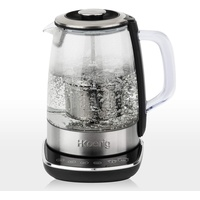 h.koenig TI600 Teekocher, Edelstahl-Glas