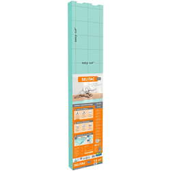 Selit Trittschalldämmplatte SELITAC, 2,2 mm, 15 m², für Parkett-/Laminatböden, faltbar