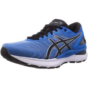 ASICS Mens Gel-Nimbus 22 Running Shoe, Directoire Blue/Black,44 EU