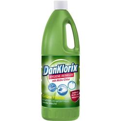 DanKlorix Hygienereiniger mit Chlor Grüne Frische1,5 L