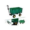 Arebos Bollerwagen Gartenwagen mit herausnehmbarer Plane | 550kg
