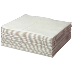 Multitex Soft-Tücher weiß Pack mit 25 Tücher - 38
