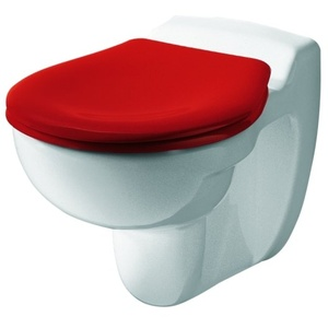 Keramag / Geberit Kind WC-Sitz mit Deckel - Rot - 573337000