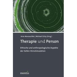 Therapie und Person: Buch von
