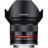 Samyang 12mm F2,0 NCS CS Micro Four Thirds schwarz