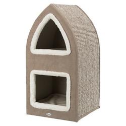 Trixie Katzenturm Cat Tower Marcy, 75 cm, creme/braun