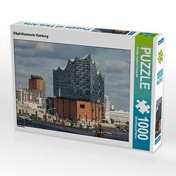 Elbphilharmonie Hamburg Lege-Größe 64 x 48 cm Foto-Puzzle Bild von Thomas Seethaler Puzzle