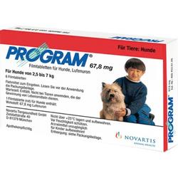 Program 67,8 mg 2,5-7 kg Tabletten für Hunde