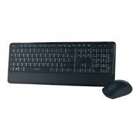Logilink Wireless Tastatur Set DE schwarz (ID0161)