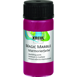 Kreul Magic Marble Marmorierfarbe rubinrot, 20 ml