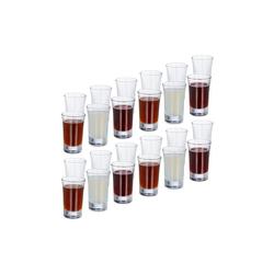 relaxdays Schnapsglas 24 x Schnapsgläser 4cl