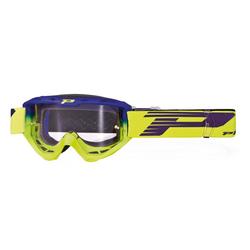 ProGrip Crossbrille 3450 LS Riot Gelb Fluo/Electric Blue