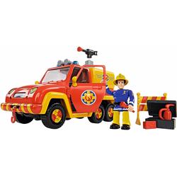SIMBA Spielzeug-Feuerwehr Feuerwehrmann Sam, Feuerwehrauto Venus mit Figur, (Set)