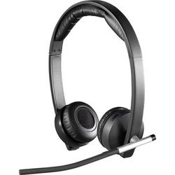 Logitech Dual H820e PC-Headset USB, 2.4GHz Funk Stereo, schnurlos On Ear