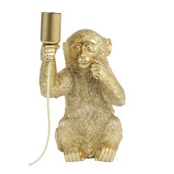 Monkey XL Tischlampe Gold