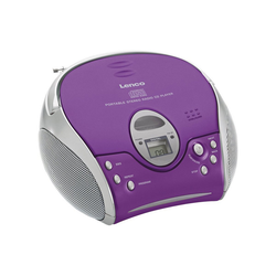 Lenco Lenco SCD-24 pink CD-Player lila