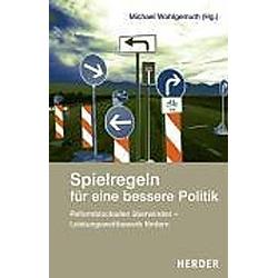 Spielregeln für eine bessere Politik - Buch