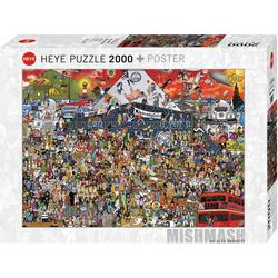 British Music History Puzzle 2000 Teile