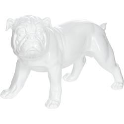 Kayoom Dekofigur Bulldoge weiß