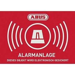 ABUS AU1422 Warnaufkleber Alarmanlage Sprachen Deutsch (B x H) 148mm x 105mm