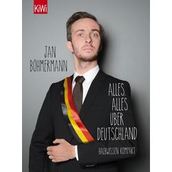 Alles alles über Deutschland als Taschenbuch von Jan Böhmermann