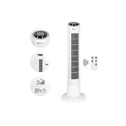 Tecvance Turmventilator, Säulenventilator mit Fernbedienung