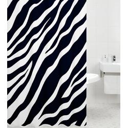 Duschvorhang Zebra 180 x 180 cm