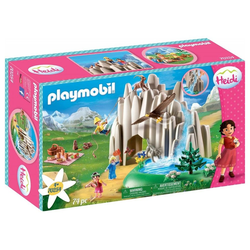 Playmobil® Spiel, Am Kristallsee mit Heidi Peter Clara Konstruktionsspielzeug 74 Teile