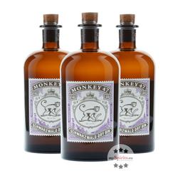 3 x Monkey 47 Schwarzwald Dry Gin
