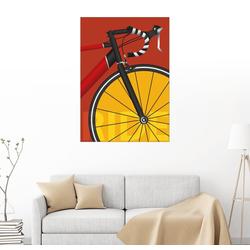 Posterlounge Wandbild, Mein Rennrad 70 cm x 90 cm