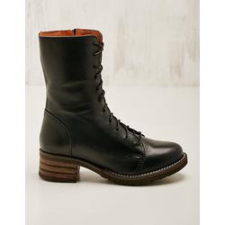 Brako Damen Leder-Stiefeletten Marga marine Boots