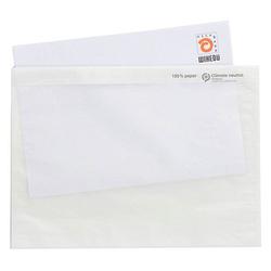 250 WIHEDÜ Lieferscheintaschen Pergamin Papier DIN C5