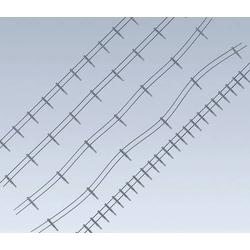 Faller 180432 H0 Eisenzaun Bausatz