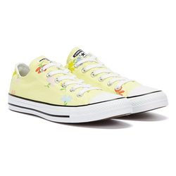 Converse All Star Garden Party Ox Womens Light Yellow / Multi Trainers