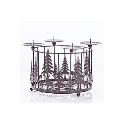 Adventskranz Kerzenhalter aus Metall