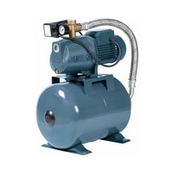 Hauswasserwerk 1500 W 4800L inkl 24-100L Speicher Wasserpumpe Gartenpumpe | Druckbehälter: 100 L