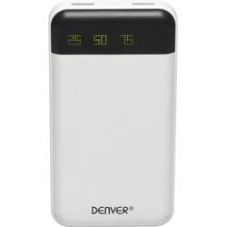 Denver Powerbank PBA-12000 mit 12.000 mAh und Ladekabel weiß
